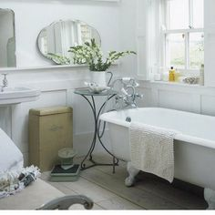 white bathrooms <3