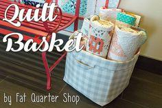 Quilt Basket Sewing Tutorial