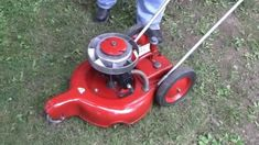 Maytag Lawnmower owned by a Friend Push Lawn Mower, Lawn Mower Tractor, Antique Tractors, Vintage Tractors, Farm Hacks, Grass Cutter, Small Tractors, Lawn Equipment, Outdoor Tools