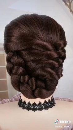Easy Hairstyles For Long Hair, Cute Hairstyles, Wedding Hairstyles, Split End Treatment, Kids Frocks Design, Colored Hair Tips, Latest Hair Color, Frock Design, Easy Paper Crafts