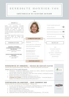 Mon CV, réalisé au moyen d'un modèle trouvé sur TheResumeBoutique sur Etsy (17€) page 1/2