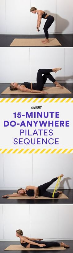 One of the best ways to lose weight can actually come from exercises which include Pilates. Find out which are one of the best moves! Pilates Abs, Pilates Training, Pilates Reformer, Pilates Workout, Pilates At Home, Workout Fitness, Pilates Chair, Fitness Pilates, Pilates Studio