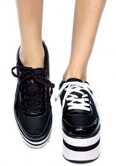 #y.r.u. #krazii sneakers Living for platforms this summer