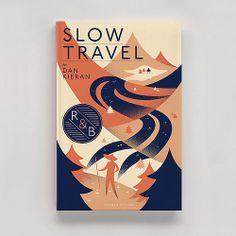 Slow Travel book cover (via typographie Tumblr)