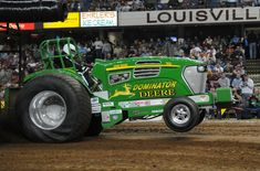 John Deere Pulling Tractor by Beer Money Pulling Team!