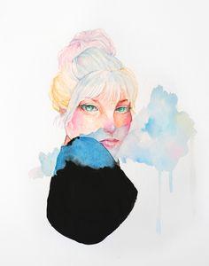 """""""See no, hear no, speak no"""" ~ watercolor"""