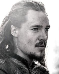 "Alexander Dreymon as Uhtred of Bebbanburg in ""The Last Kingdom"""