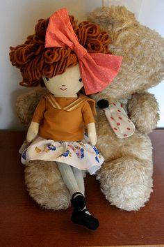 preety handmade doll