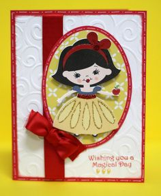 Scrappin' 2 Little Princesses: Wishing You A Magical Day using Once Upon a Princess