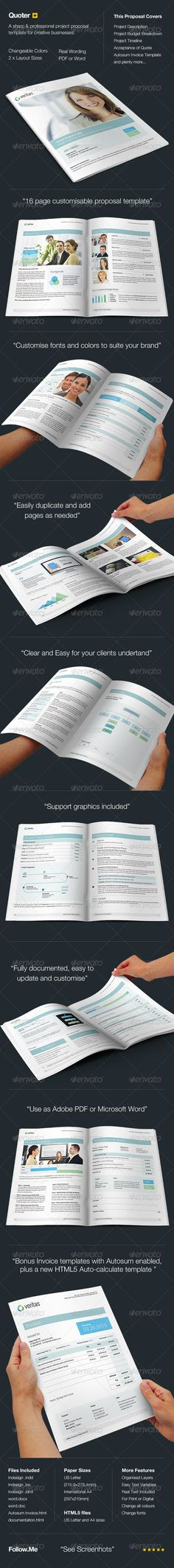 Annual Report Proposal Template Proposal templates