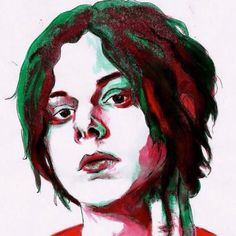 Jack white watercolor