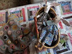 12Bunnerses1 - rosylittlethings posie gets cozy bunnies with liberty of london fabric peasant dresses