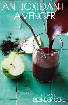 Antioxidant Avenger From The NEW Blender Girl Book - Just release TODAY!  Get this amazing recipe from the book now.
