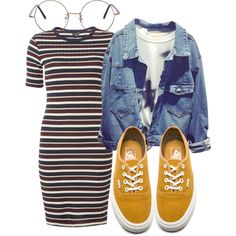 Untitled #3232 by ma-rae on Polyvore featuring polyvore, fashion, style, Dorothy Perkins, Vans and clothing