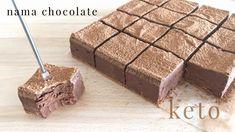 Keto Nama Chocolate 生チョコレート - YouTube
