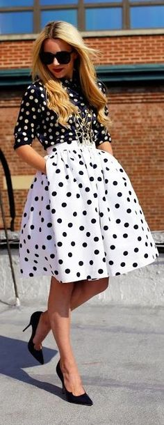 Polka Dot Game Outfit by Atlantic - Pacific