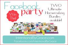 Ultimate Homemaking Bundle 2015 (Kindle Version) – Facebook Party Giveaway