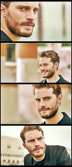 Jamie Dornan aka Christian Grey~! The most beautiful man on the planet!!