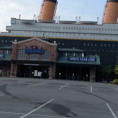 All aboard! #titanic #smokies #pigeonforge
