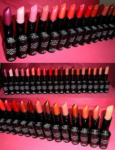 NYX Lipstick----my favorite lipstick, moisturizing & long lasting. I wish they had more exotic colors to choose from.