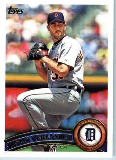 2011 Topps Baseball Card # 355 Justin Verlander - Detroit Tigers - MLB Trading Card (Series 2) in a Protective Screwdown Case by Topps. $4.95. 2011 Topps Baseball Card # 355 Justin Verlander - Detroit
