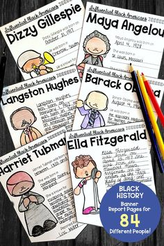 Celebrate Black History Month with your students using this great activity. Students research and write about an influential Black American on a banner page which can be displayed throughout the month of February (or any and every month)! Kids have fun sharing what they've learned with classmates! Click to find out more.