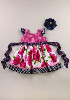Matilda Jane Platinum Bisous loves me dress 7.28.15