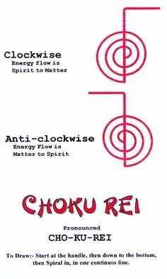 choku rei more water choku rei tattoos reiki symbols energy healing ...