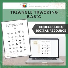 This digitally interactive resource is designed for use with Google Slides. This resource contains 10 slides in total. Answer sheets are included.The student must find all the triangles that look the same as the example at the top of the page, and drag the orange circles to mark the correct answers.