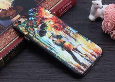 iPhone SE 4 4s 5 5s 6 6plus 6s 6splus 3D Patterns Van Gogh Starry Night