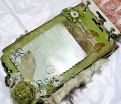 With A Grin: Scraps & Prima Mini Album fun **gotta try this one**