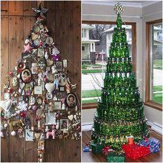Original ideas for Christmas trees http://veu.sk/index.php/aktuality/1658-originalne-napady-na-vianocne-stromceky.html #original #ideas #christmas #tree