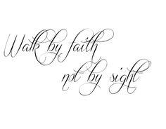 Walk By Faith Tattoo Fonts Download tattoo