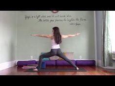 Yoga for Absolute Beginners | with Leigha Butler | Ujjayi Breath & Basic Vinyasa Flow Instruction - YouTube