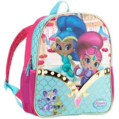 Shimmer & Shine Shine On Backpack, Multicolor