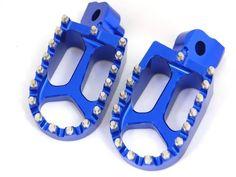 11Z BLUE CNC RACING FOOTPEGS FP11 YAMAHA YZ85 YZ125 YZ250 YZ250F YZ426F YZ450F WR250 WR400 WR426 WR450 | Best Motorbike Reviews