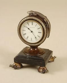 images of lamps by matlin smith furniture | Maitland Smith 1330-386 Aged Regency Finished Clock, Brown Penshell ...