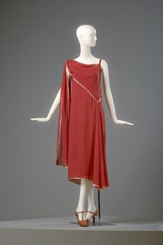 Madeleine Vionnet, French, 1876-1975  Dress, 1922 by lessie