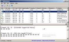 WifiInfoView - WiFi Scanner for Windows 7/8/Vista