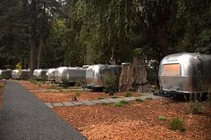 Summer is coming, and even if you're not a fan of camping or road trips, you can still enjoy the experience of staying in a midcentury-inspired Airstream.