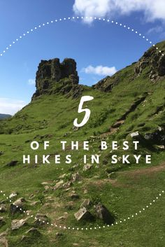 For outdoor lovers Scotland and Skye is a dream come true. If you have limited time and want to fit some of the best hikes then  check out 5 of the best hikes in Skye here. Incredible sights are guaranteed.