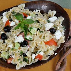 Greek Pasta Salad | Recipes | Spoonful