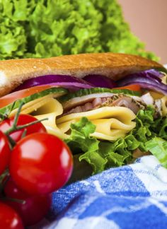 French Salad Sandwiches