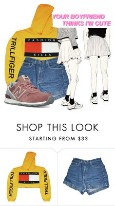 """""""Fashion Killer"""" by brwneyex ❤ liked on Polyvore featuring American Apparel and New Balance"""