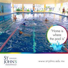 😎  Habilidades acuáticas por descubrir ¡te esperamos por las tardes! 💦 #FamiliaStJohns