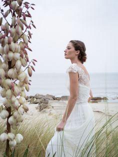 La mariee aux pieds nus - Confidentiel Creation - Robes de mariee - Collection 2015 - Modele -  Chloe