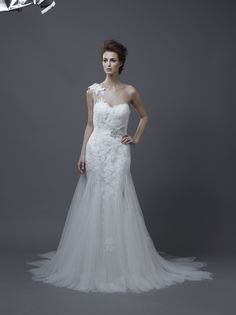 Igen Szalon Enzoani wedding dress - Heli #igenszalon #weddingdress #enzoani