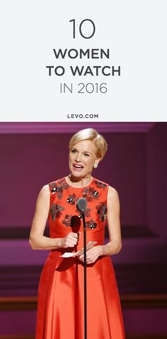 Brace yourself for waves. These are the top 10 women to watch in 2016. @levoleague www.levo.com