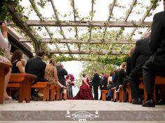 Ceremony at the Irish Barn – At Whistling Straits, Kohler, WI. Photo by: FRP
