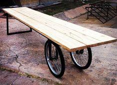 DesignSTUDIO's singleSPEED Picnic Table